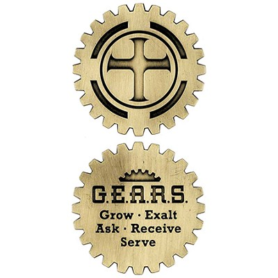 Grow Exalt Ask Receive Serve Pocket Stone  -