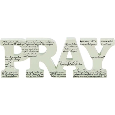Pray Tabletop Decor  -