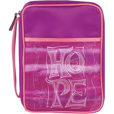 Hope Bible Cover, Purple, Large  -
