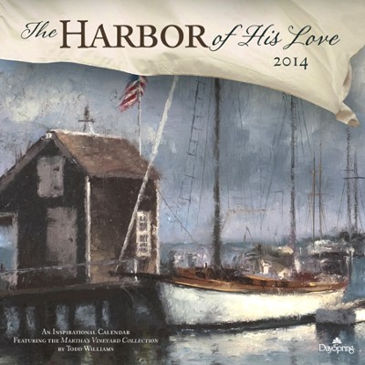 2014 Wall Calendar, The Harbor Of His Love  -     By: Todd Williams