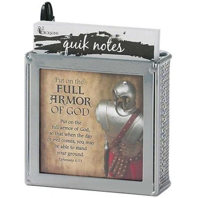 Full Armor of God Notes and Pen  -