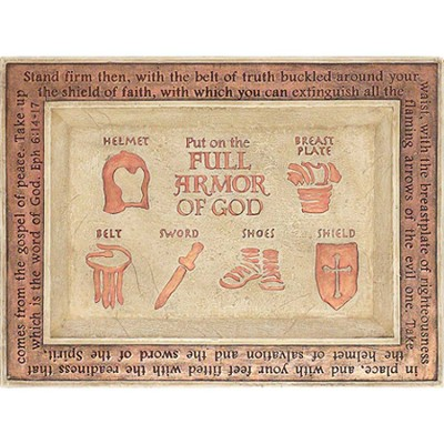 Full Armor of God Coin Tray  -