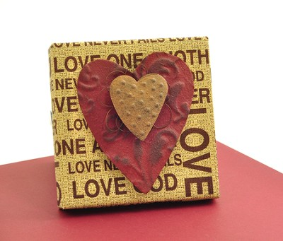 Love One Another Plaque, with Heart  -