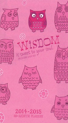 2014-2015 Pocket Calendar, Wise Owl  -