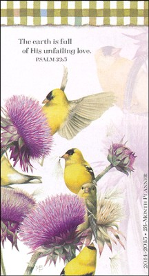 2014-2015 Pocket Calendar, Natures Blessings  -