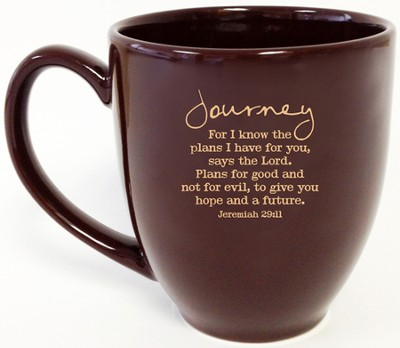 Journey, For I Know the Plans Mug  -