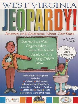 West Virginia Jeopardy, Grades K-8  -     By: Carole Marsh