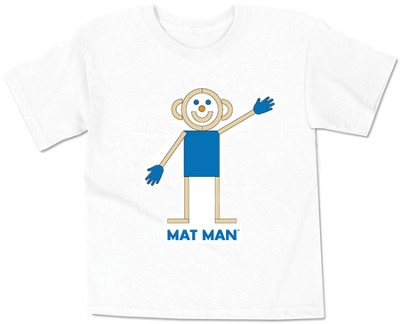 Youth Medium Mat Man T-Shirt   -