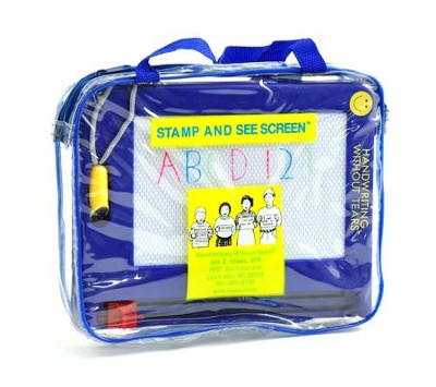 Stamp and See Screen-Preschool to Grade K   -