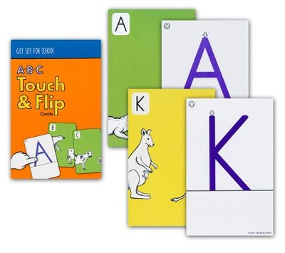 A-B-C Touch and Flip Cards--Preschool   -