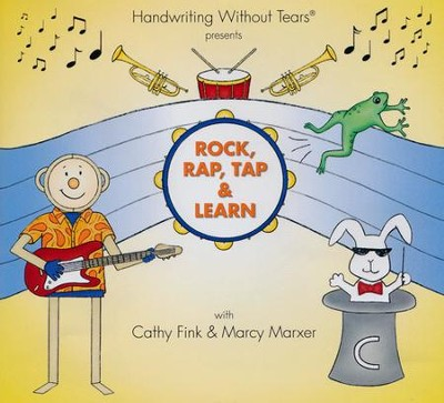 Rock, Rap, Tap & Learn Audio CD   -