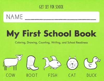 My First School Book--Preschool   -