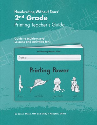 Printing Power Grade 2 Teacher's Guide   -