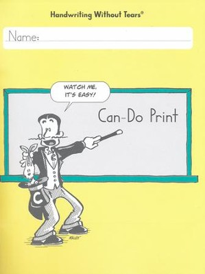 Can-Do Print Student Workbook--Grades 5 and up   -