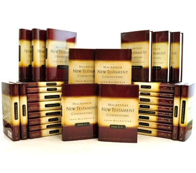 The John MacArthur New Testament Commentary Series, 30 Volume Set  -     By: John MacArthur