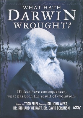 What Hath Darwin Wrought? DVD   -     By: Todd Friel