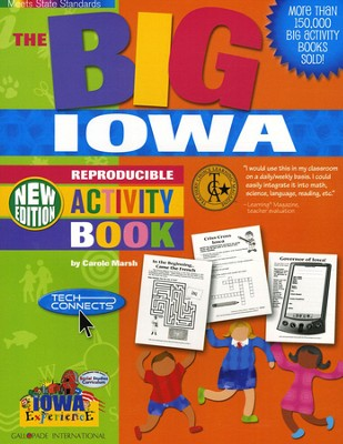 Iowa Big Activity Book, Grades K-5  -     By: Carole Marsh