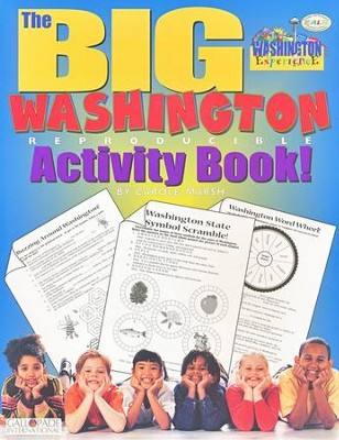 Washington Big Activity Book, Grades K-5  -     By: Carole Marsh