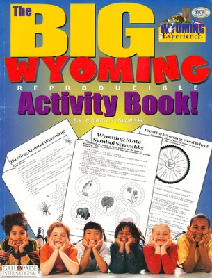 Wyoming Big Activity Book, Grades K-5  -     By: Carole Marsh