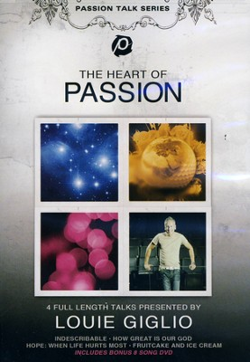 The Heart of Passion 5 Disc Set   -     By: Lou Giglio