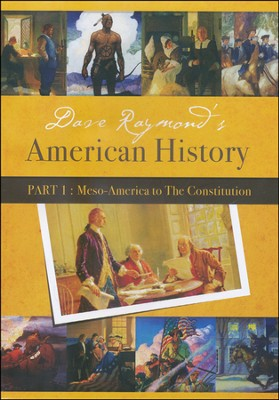 Dave Raymond's American History Part 1 (4 DVD's)   -