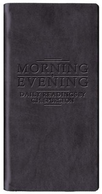 Morning & Evening - Matte Black  -     By: Charles H. Spurgeon