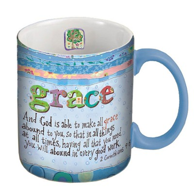 And God is Able to Make All Grace Abound Mug  -