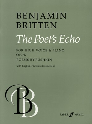 The Poets Echo: For High Voice and Piano  -     By: Benjamin Britten