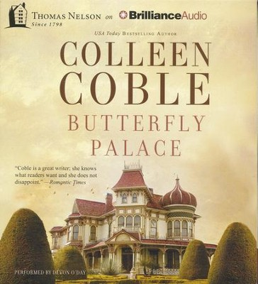 Butterfly Palace - unabridged audiobook on CD  -     By: Colleen Coble