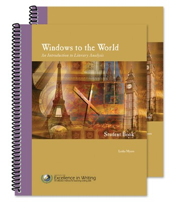 Windows to the World - An Introduction to Literary Analysis (teacher/student combo set)  -     By: Lesha Myers