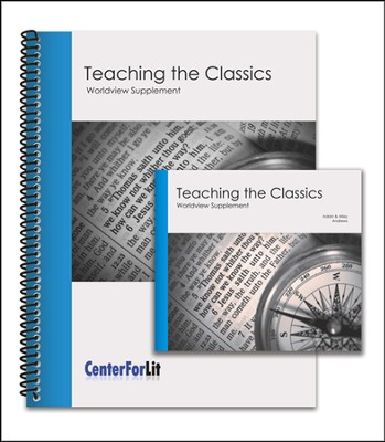 Teaching the Classics - Worldview Supplement DVD Seminar and Workbook  -     By: Adam Andrews, Missy Andrews
