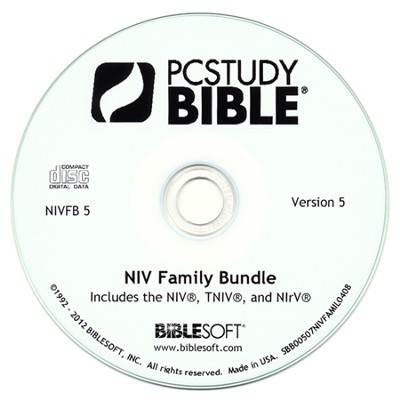 NIV Family of Translations Add-On PC Study Bible Bundle   -