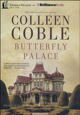 Butterfly Palace - unabridged audiobook on MP3 CD   -     By: Colleen Coble