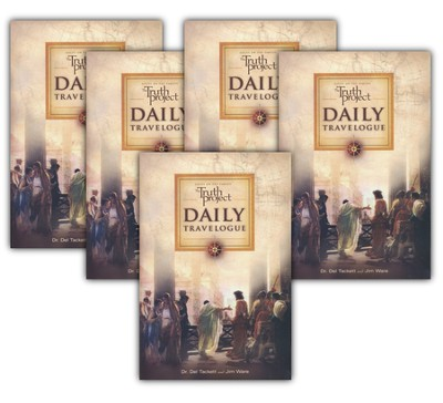 The Truth Project Daily Travelogue: Scripture  Devotional - 5 pack  -     By: Dr. Del Tacket & Jim Ware