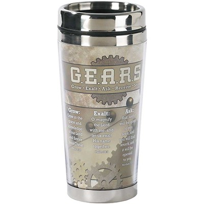 Grow Exalt Ask Receive Serve Travel Mug  -