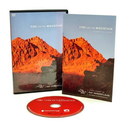 Fire on the Mountain DVD, Faith Lessons Volume 9    -     By: Ray Vander Laan