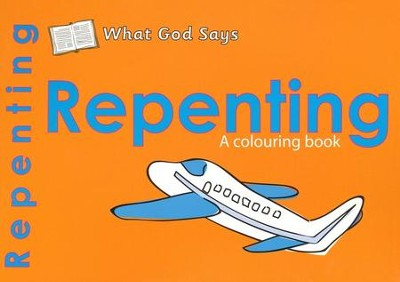 What God Says: Repenting, A Coloring Book   -     By: Catherine Mackenzie