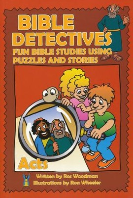 Bible Detectives: Acts  -     By: Ros Woodman