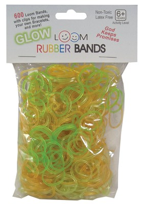 Glow Loom Bands, 600 Pieces  -
