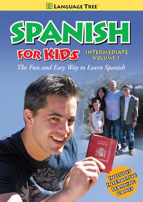 Spanish for Kids Intermediate Volume 1  -