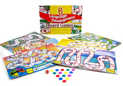 6 Language Development Board Games   -
