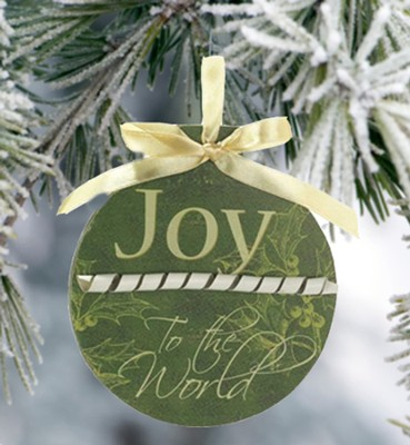 Joy To the World Ornament   -