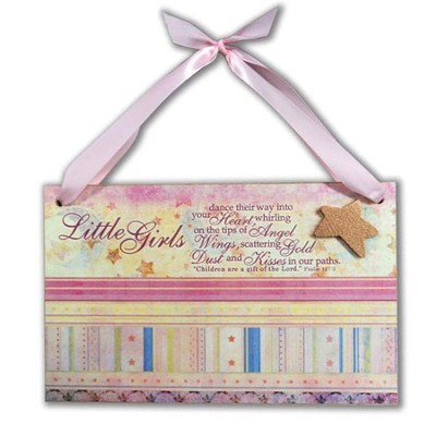 New Baby Girl Plaque  -