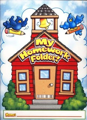 My Homework Folder! Pocket Folder  -