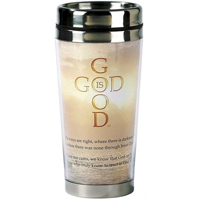 God Is Good Travel Mug  -
