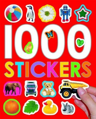 1000 Stickers  -     By: Roger Priddy