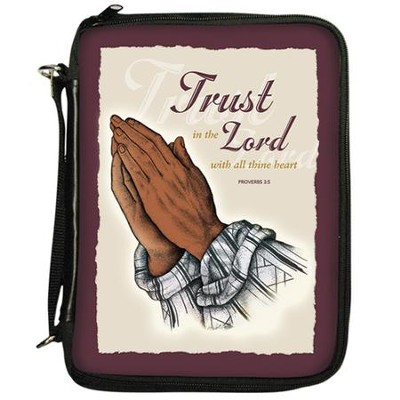 Trust In The Lord, Organizer Bible Cover   -