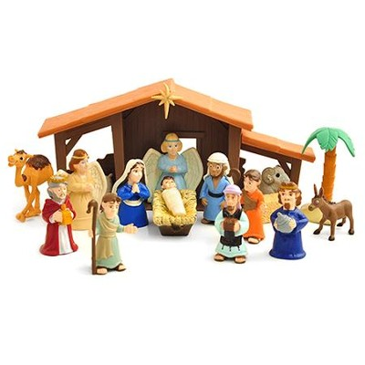 Tales of Glory Nativity Playset   -
