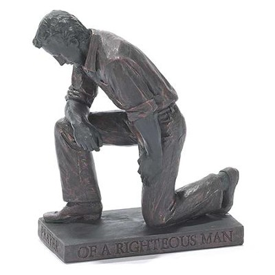 Praying Man, Figurine Sculpture                                           -