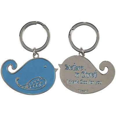 Sisters In Christ Keyring   -